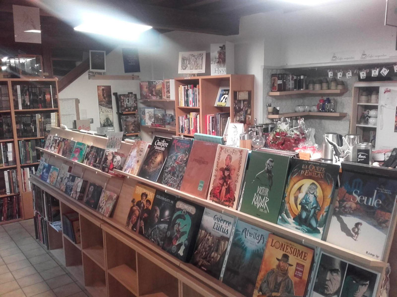 Librairie plume et bulle - En salles